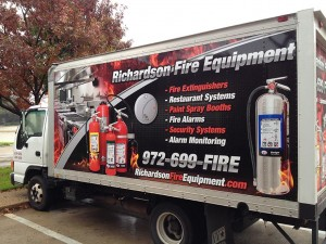 Richardson Fire Equipment Fire Extinguisher Truck